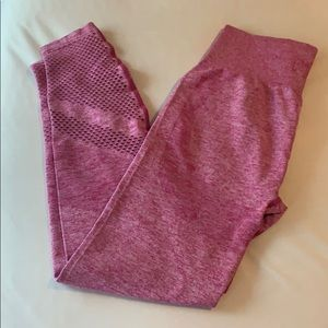 PINK VS high waisted seamless leggings